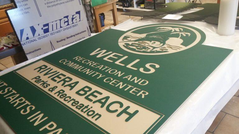Wholesale ColorCore Signs - Flat engraved - Elite Letters & Logos